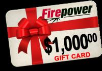FirePower Gift Card